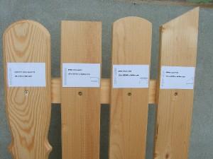 Dřevěné plotovky cena